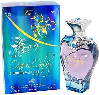 Giorgio Valenti One and Only Eau de Parfum Spray for Women, 100 ml, 3.3 Ounce