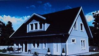 Farben-Budimex Industrie-Profi Wetterschutzfarbe, Dauerschutzfarbe, taubenblau / seidenmatt / 2,5 L