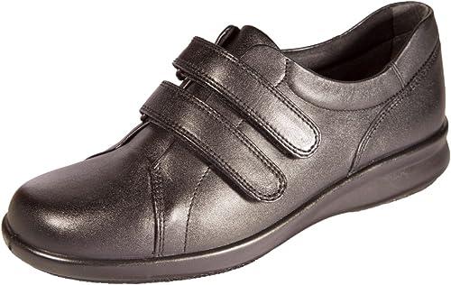 DB DB chaussures Naomi Chaussures en cuir Taille 4E Noir  pour votre style de jeu aux meilleurs prix