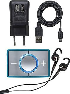 Ceecoach 2 Single Bluetooth Kommunikation och mottalsapparat för sport, vintersport, industri, turkos