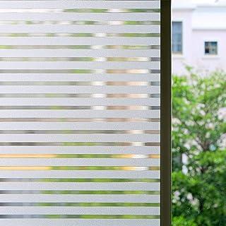 comprar comparacion Zindoo Vinilo para Ventanas Vinilos Decorativos Cristales Sin Pegamento Láminas Electrostáticas para Ventanas la privacida...