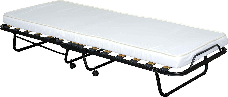 Reti Gritti Cama plegable con colchón acolchado