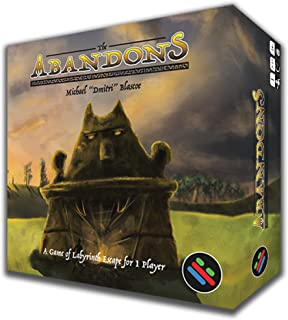 The Abandons by Puzzling Pixel Games - Solitaire Card Game - Dungeon Maze Escape - Solo Game