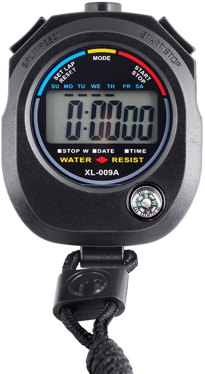 All items free shipping KingL Digital Stopwatch Timer Ranking TOP13 - Displa with Interval Large