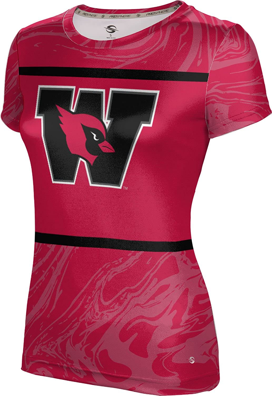 ProSphere Wesleyan University College Girls' Performance T-Shirt (Ripple)