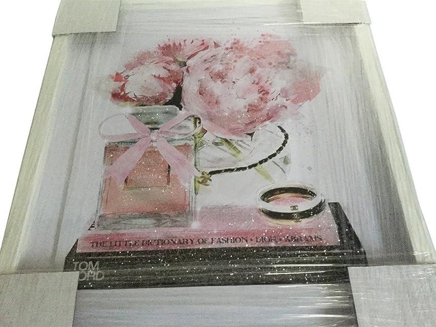 ライセンスまろやかな狂乱Oliver Gal O83 Elegant Perfume and Morning CHANEL スワロフスキー (17×20インチ:43.18×50.8cm)