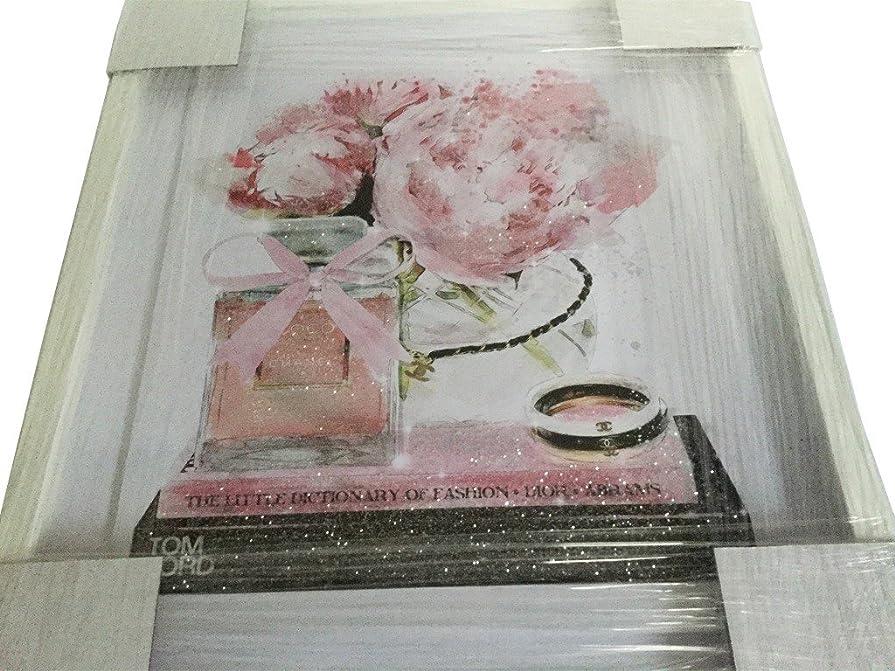 講堂ワゴン破壊的なOliver Gal O83 Elegant Perfume and Morning CHANEL スワロフスキー (17×20インチ:43.18×50.8cm)