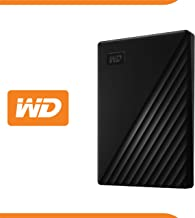 WD 5 TB My Passport disco duro portátil con protección con contraseña y software de copia de seguridad automática, Compatible con PC, Xbox y PS4, color Negro