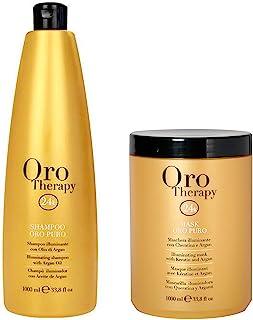 FANOLA ORO THERAPY - Shampoo (1000 ml) + Maschera (1000 ml)