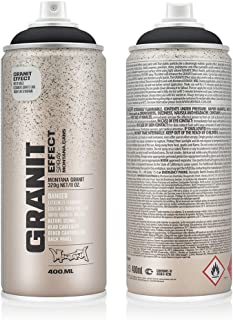 Montana Cans MXE-G9000 Montana Granit 400 ml Color, Black Spray Paint,