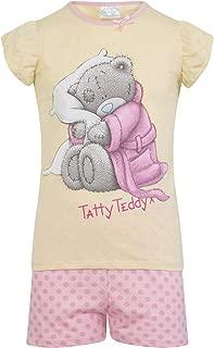 Tatty Teddy Official Gift Baby Toddler Girls Short Pajamas