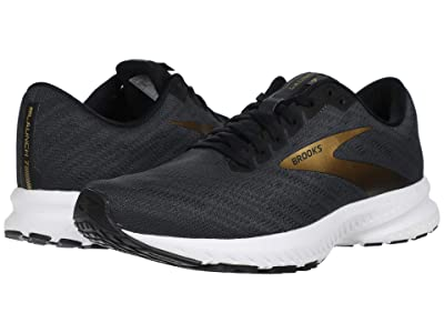 Brooks Launch 7 (Ebony/Black/Gold) Men