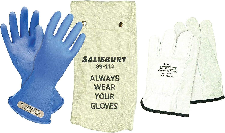 Salisbury Blue Indefinitely Electrical Seasonal Wrap Introduction Glove Kit Rubber G 7 Size 0 Class -