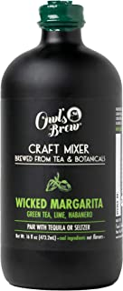Sponsored Ad - Wicked Margarita Owl's Brew Cocktail Mixer, 16 Ounce Bottle