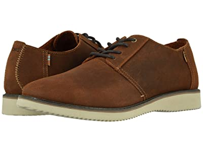 TOMS Preston (Brown Distressed Leather) Men