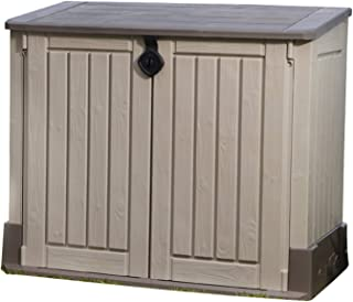 KETER Abri horizontal range poubelle SIO MIDI - 845 litres [Ancien Modèle]