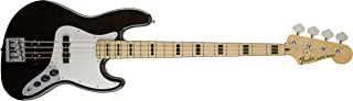 Fender Geddy Lee Signature Jazz Bass Guitar, Maple Fretboard, Black