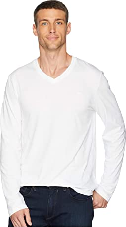 Long Sleeve Jersey V-Neck T-Shirt