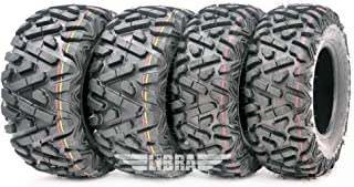 Set of 4 New WANDA ATV/UTV Tires 25×8-12 Front & 25×10-12 Rear /6PR P350..