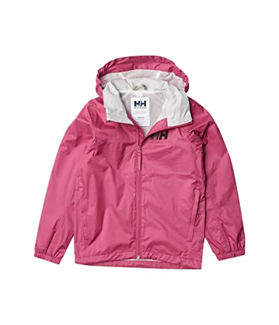 Helly Hansen Kids Jr Urban Rain Jacket (Big Kids) (Magenta Haze) Girl