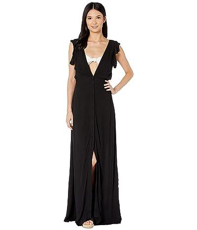 Maaji Turtle-Iffic Long Dress Cover-Up (Black) Women