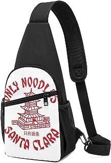 Hdadwy Santa Carla Only Noodles Lost Boys Sling Mochila Sling Bag Black Crossbody Daypack Mochila informal Bolsa de pecho ...