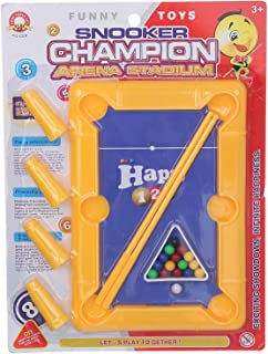 لعبة بلياردو سنوكر شامبيون ارينا ستاديوم للاطفال، متعددة الالوان