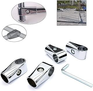 Castuvy 4Pcs Aluminum Alloy Silver 1