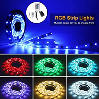 Waterproof 5M RGB 2835 270Led SMD Flexible Light Strip Lamp+ Remote Controller