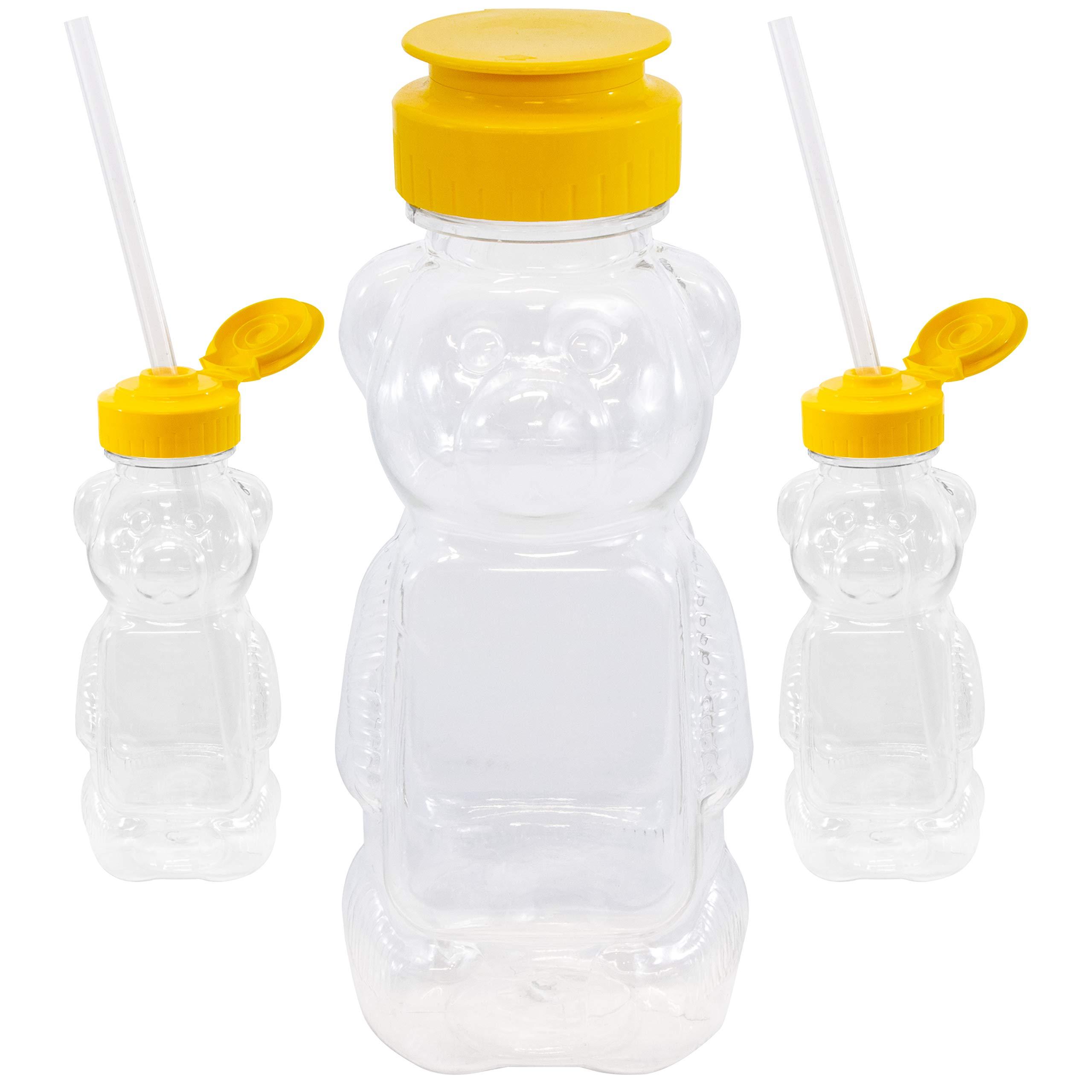 Juice Bear and 3 Straws Abilitations Mr