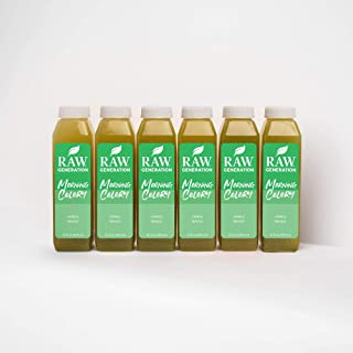 Celery Juice Daily Health Tonic by Raw Generation (18-Count) – 100% Pure Celery with a Splash of Lemon / Great for Detoxif...