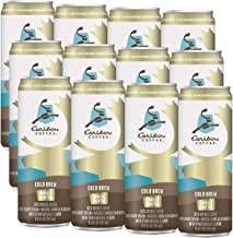 Caribou Coffee Vanilla Crafted Cold Brew Coffee, 11.5 Fl Oz (12 count)