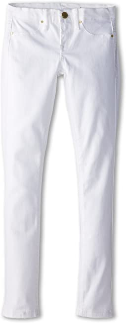 Blank NYC Kids Skinny Jeans in White Lines (Big Kids)