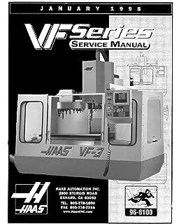 Haas VF Series Milling Machine Service Manual Jan 1998