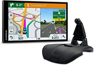 $219 » Garmin DriveSmart 61 LMT-S Friction Mount Bundle GPS with Lifetime Maps of North America, Traffic, and Smart Features (01...