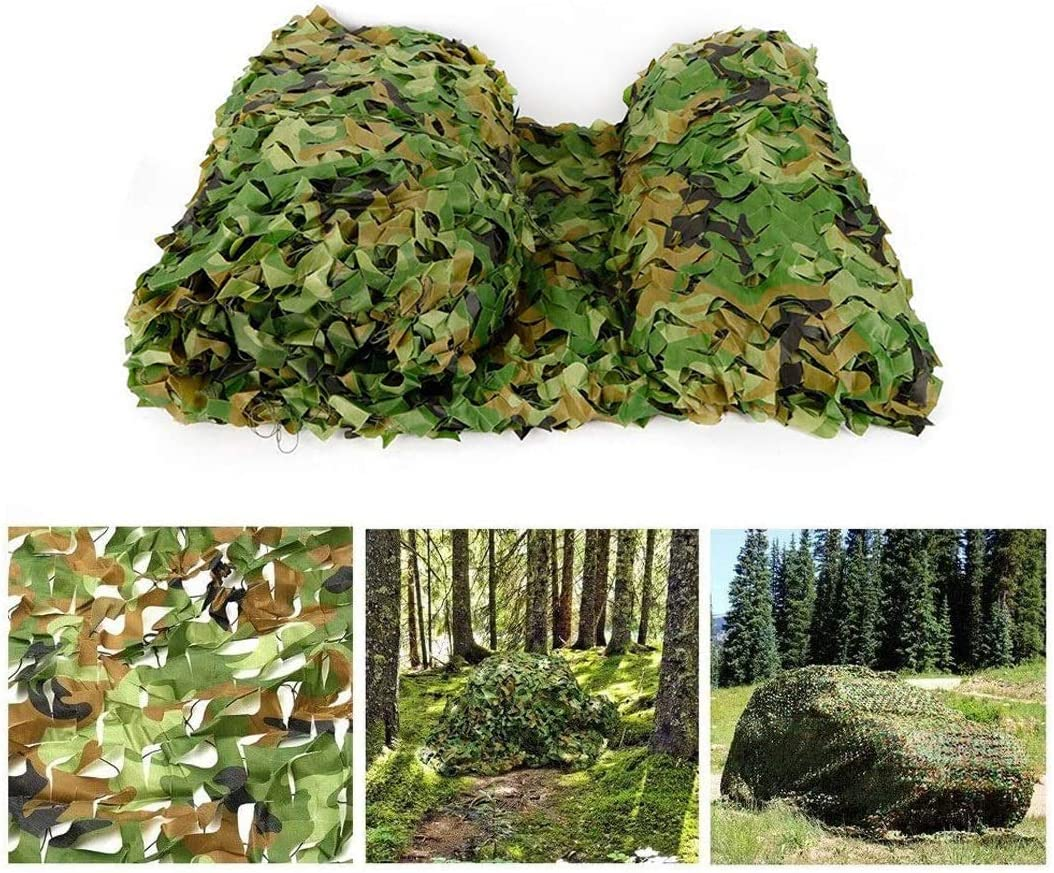 Camo Max 66% OFF Netting Bulk Roll Camouflage Net Military - excellence Grid Wate with