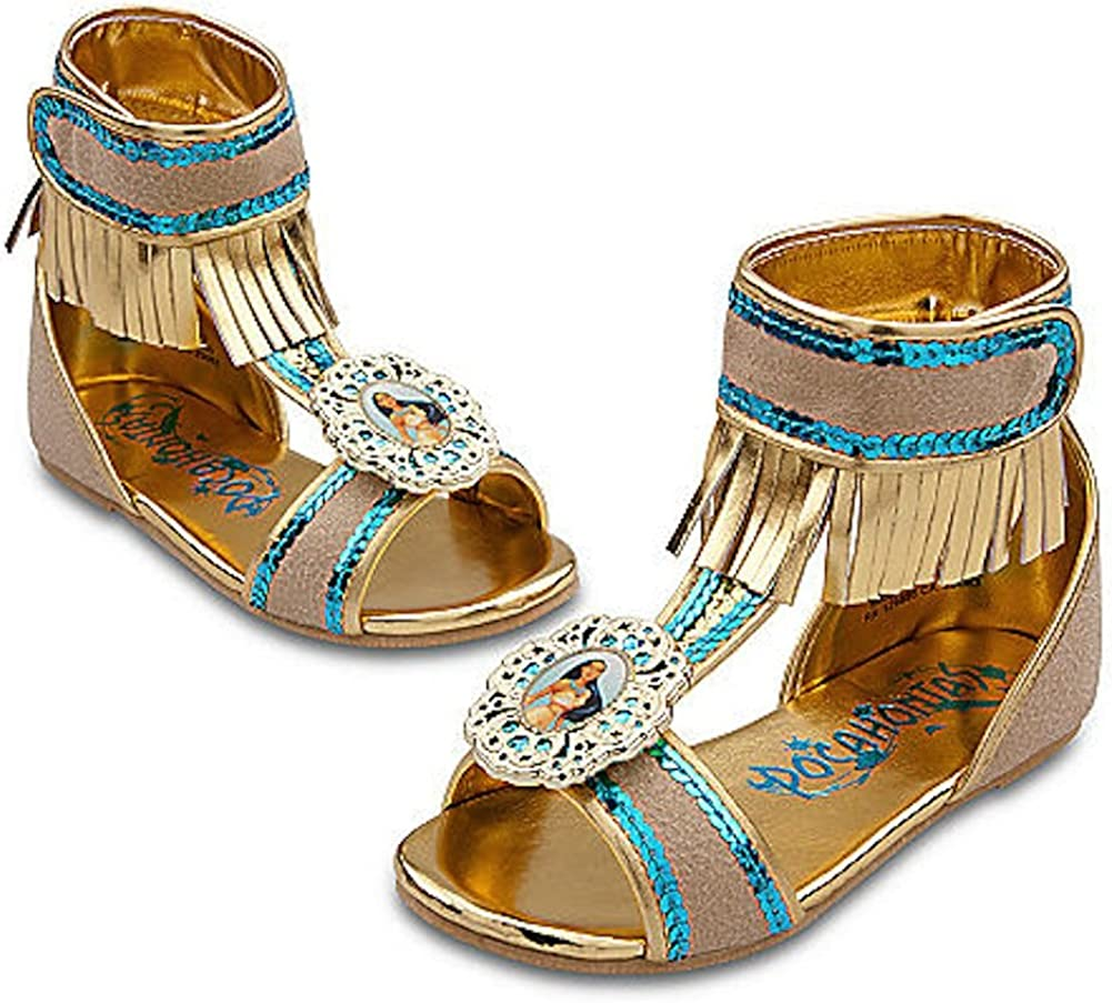 Charlotte Mall Disney Pocahontas Max 78% OFF Shoes for Girls Toddlers Dress Up