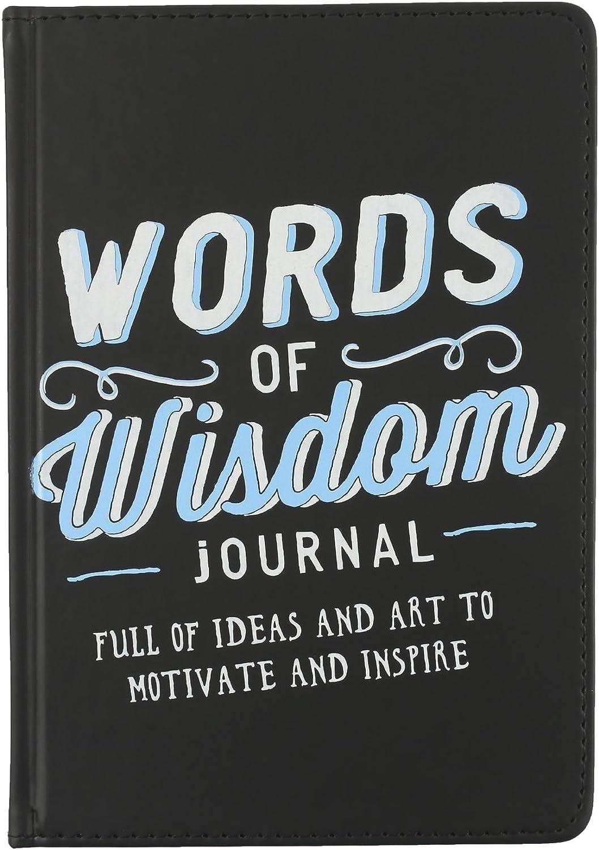 ECCOLO World Traveler Traveler Traveler 15,2 x 20,3 cm Words Of Wisdom Inspirierende Tagebuch, schwarz (t420 a) B014QY57VM | Kostengünstiger  997570