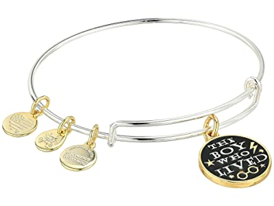 Alex and Ani Harry Potter, The Boy Who Lived Bangle (Shiny Silver) Bracelet