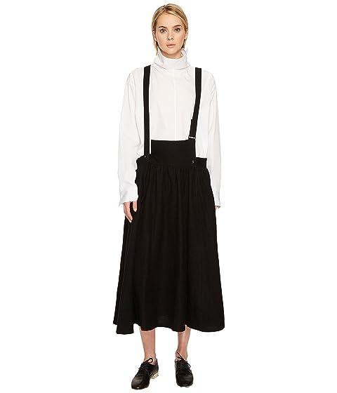 Y's by Yohji Yamamoto S-Fr Gathered Skirt Overalls