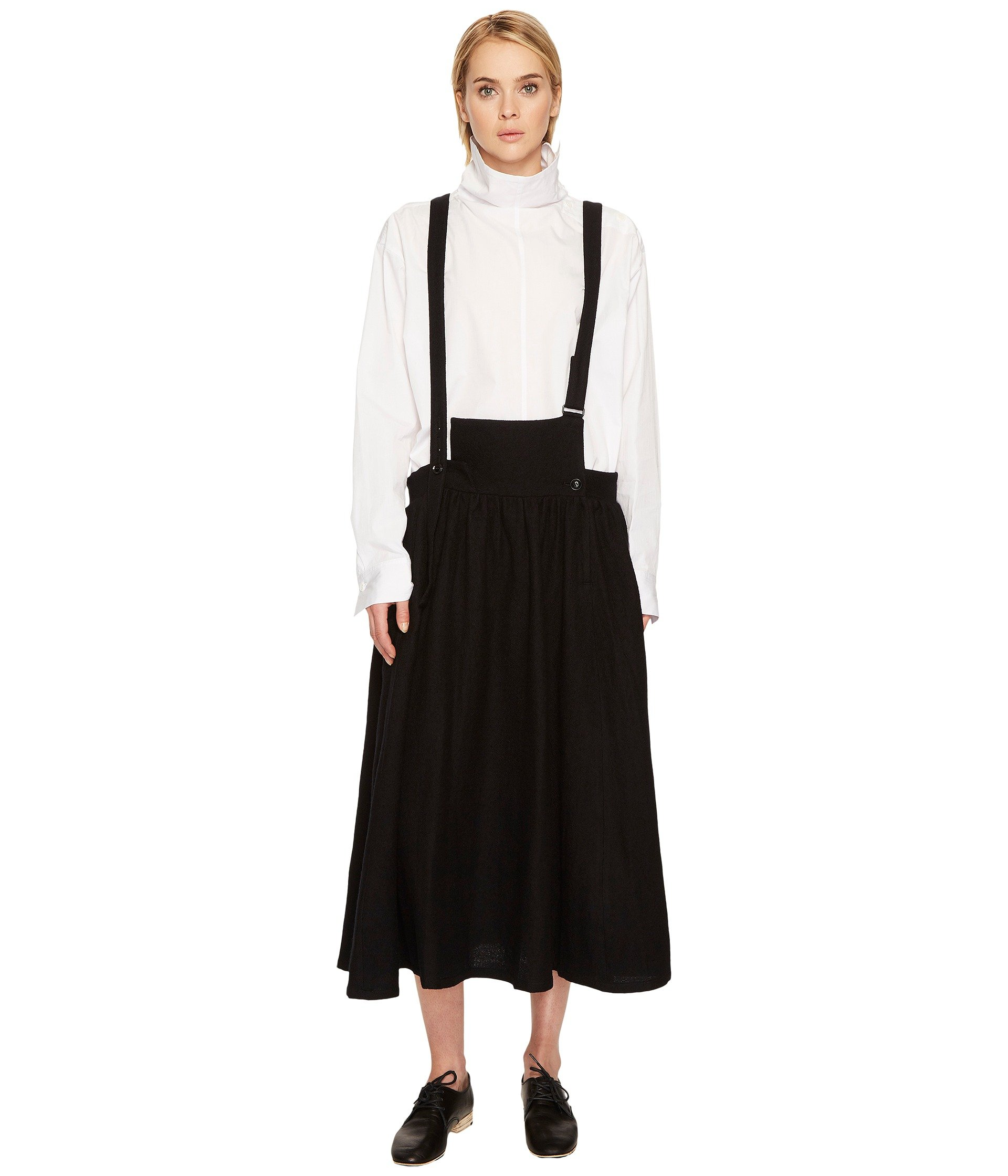 Falda para Mujer Yand#39;s by Yohji Yamamoto S-Fr Gathered Skirt Overalls  +