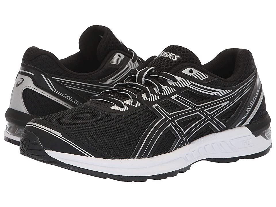 ASICS Gel-Sileo (Black/Silver) Women