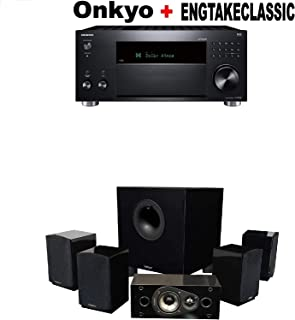 Onkyo TX-RZ830 9.2 Channel 4K Network A/V Receiver Black + Klipsch HDT-600 Home Theater System Bundle