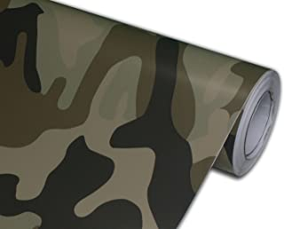 Hachi Auto Camouflage Camo Desert Vinyl Car Wrap 24-by-60-inch