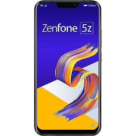 ASUS Zenfone 5Z ブラック 【日本正規代理店品】 ZS620KL-BK128S6/A