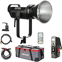 Aputure LS 300x 350W 2700K-6500K Bi-Color LED Video Light with Bowens-S Mount, V-Mount Battery Plate, CRI&TLCI is 96+, 2.4GHz Remote Control, Sidus Link App, 9 FX Lighting Effects