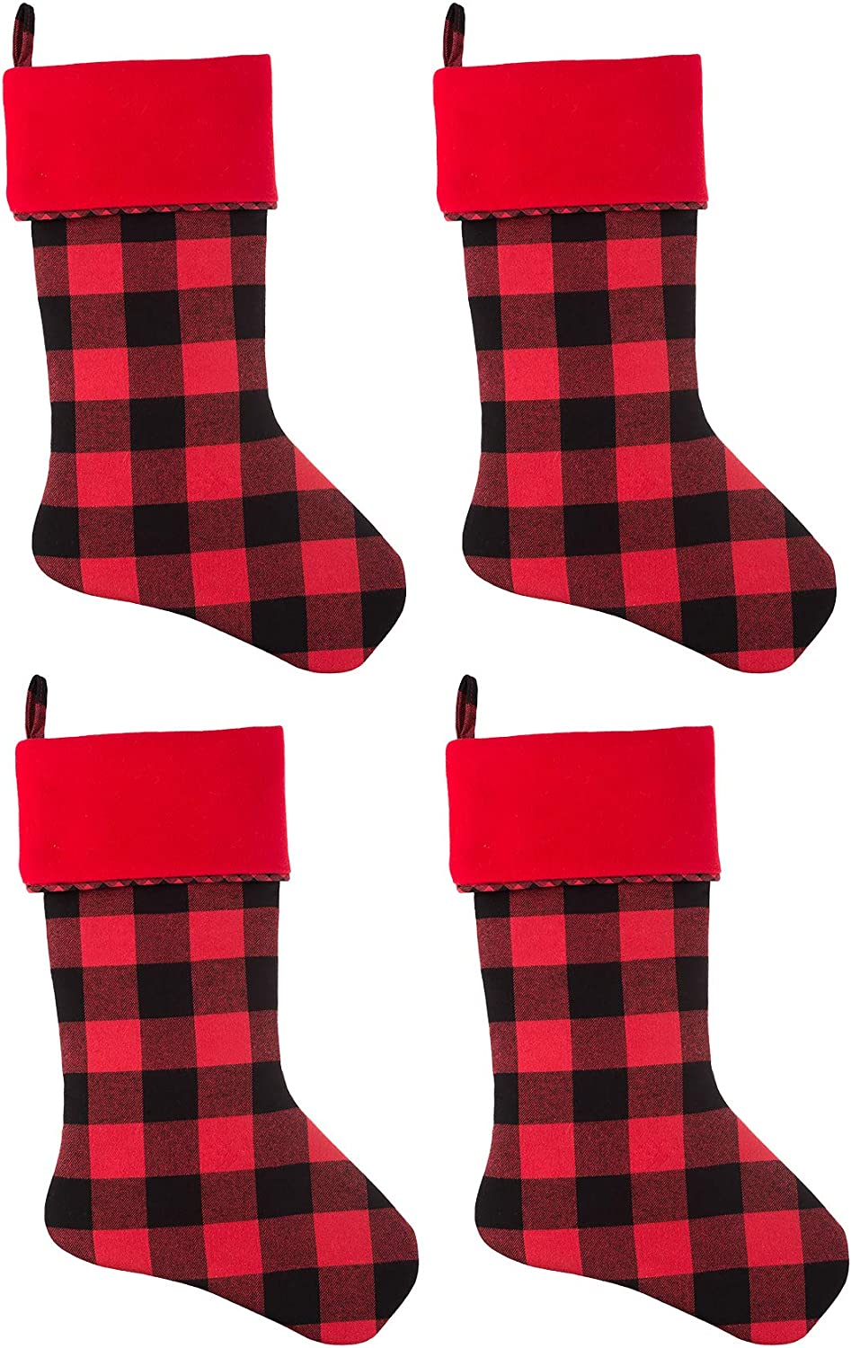 Haute Decor HangRight Buffalo Check Inch 20 Stocking Christmas A surprise price is Outlet ☆ Free Shipping realized