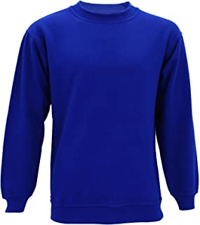 Absolute Apparel Mens AA24 Regular Big Size Gym Sterling Sweatshirt Crew Neck