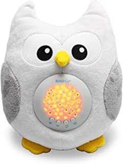 Baby Soother Toys Owl White Noise Sound Machine, Toddler Sleep Aid Night Light, Unique Baby Girl Gifts & Ba...