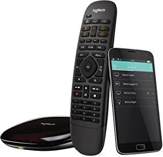 Logitech Harmony Companion All In One Remote Control for Smart Home and Entertainment Devices (Black) (Renewed)